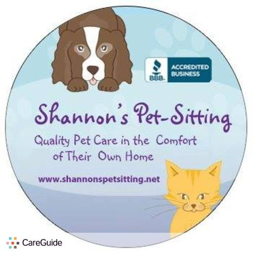 Pet Care Provider Shannon's Pet Sitting's Profile Picture