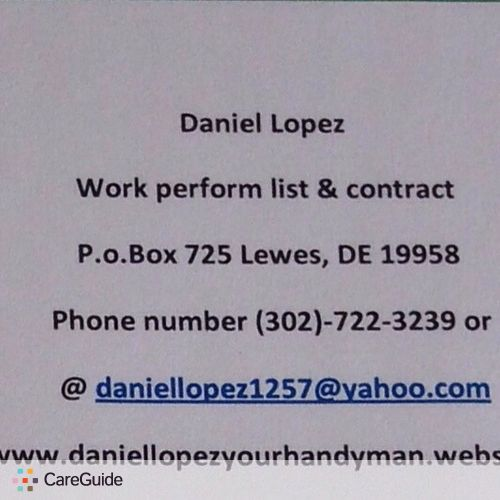 Handyman Provider Daniel L's Profile Picture