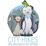 City Hikes Dog Walking also offers pet sitting!