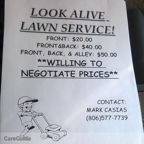 Landscaper Job Mark Casias's Profile Picture