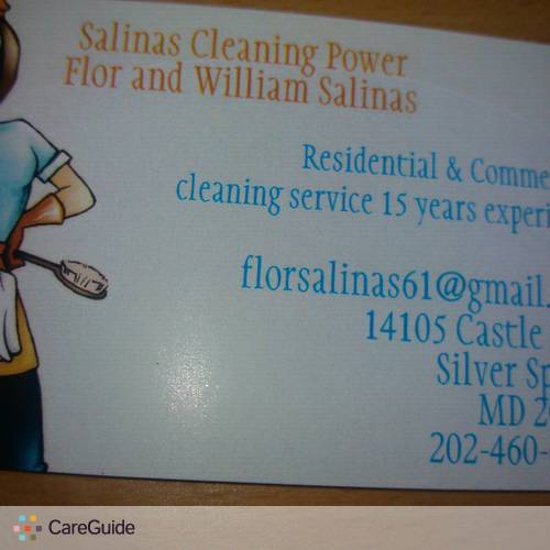 Housekeeper Provider Flor Salinas's Profile Picture