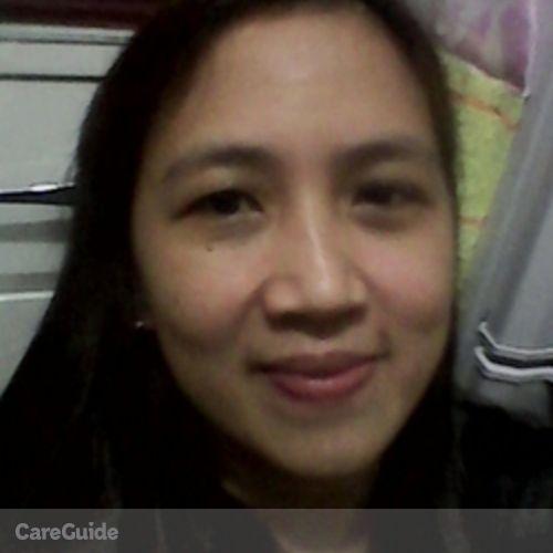 Canadian Nanny Provider Almira Paredes's Profile Picture