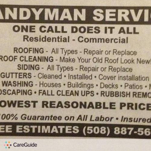 Handyman Provider Derek D's Profile Picture