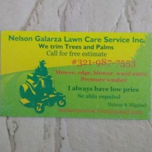 Landscaper Provider Nelson Galarza's Profile Picture