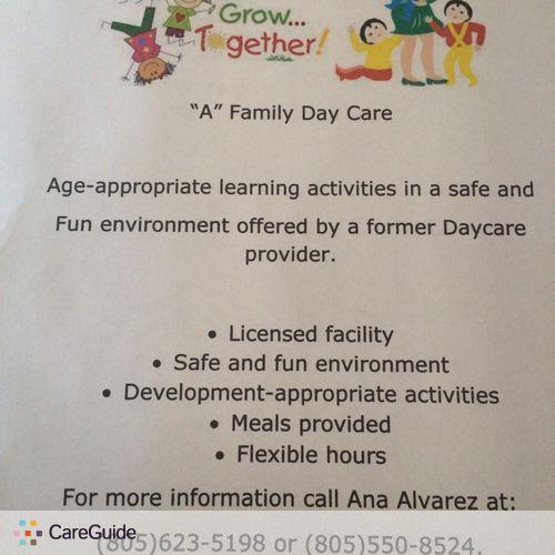 Child Care Provider Ana Alvarez's Profile Picture