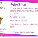Daycare Provider in Catlin