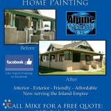 Painter in Lake Elsinore
