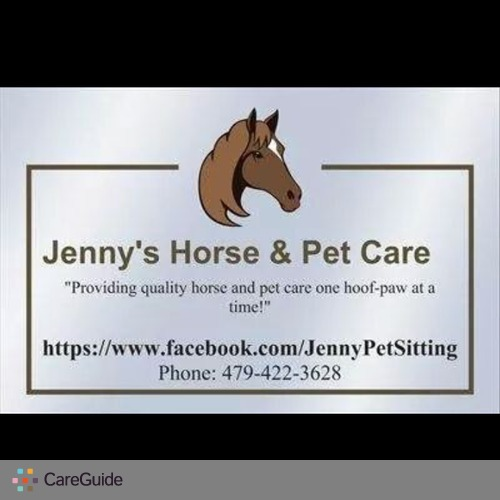 Pet Care Provider Jenny McGee's Profile Picture