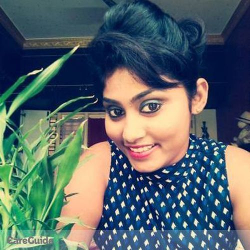 Canadian Nanny Provider Namratha K's Profile Picture