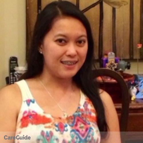 Canadian Nanny Provider Marichris Castro's Profile Picture