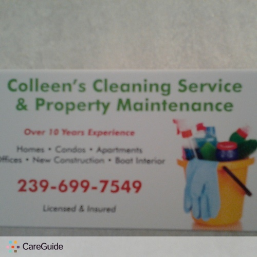 Housekeeper Provider Colleen Mulder's Profile Picture