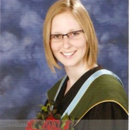 Canadian Nanny Provider Katelyn Calberry's Profile Picture