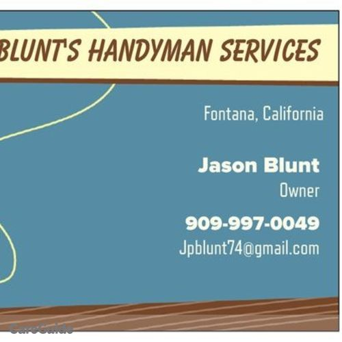 Handyman Provider Jason Blunt's Profile Picture