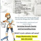 Enjoy your life and family! I'll clean your home so you can take that precious time.