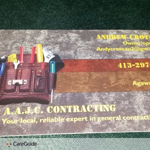 Handyman Provider Andy Croteau's Profile Picture