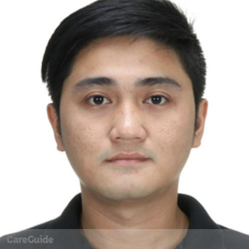 Canadian Nanny Provider Jeffrey D's Profile Picture