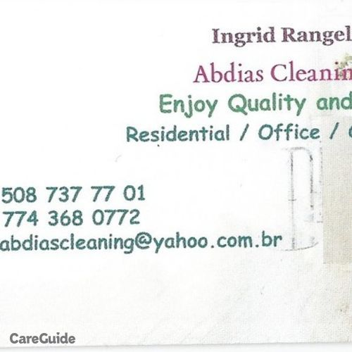 Housekeeper Provider Abdias Cleaning's Profile Picture