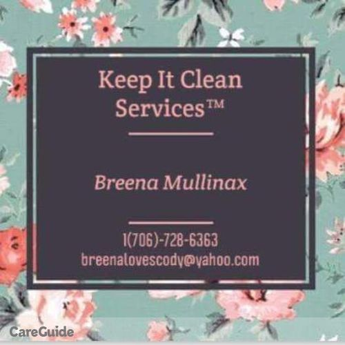 Housekeeper Provider Breena M's Profile Picture