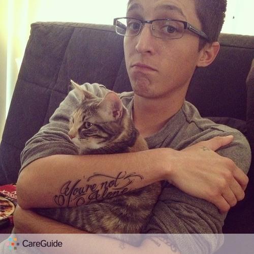 Pet Care Provider Caleb Camacho's Profile Picture