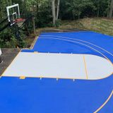 Residential Basketball Court Painting
