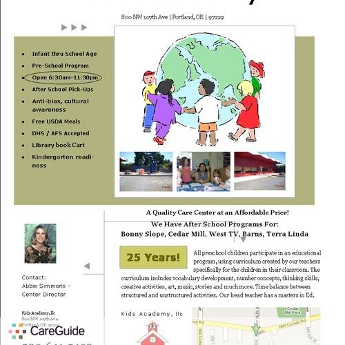 Child Care Provider Abbie S's Profile Picture