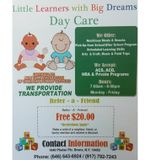 Little Learners With Big Dreams Day Care