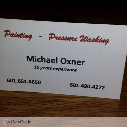 Painter Provider Michael O's Profile Picture