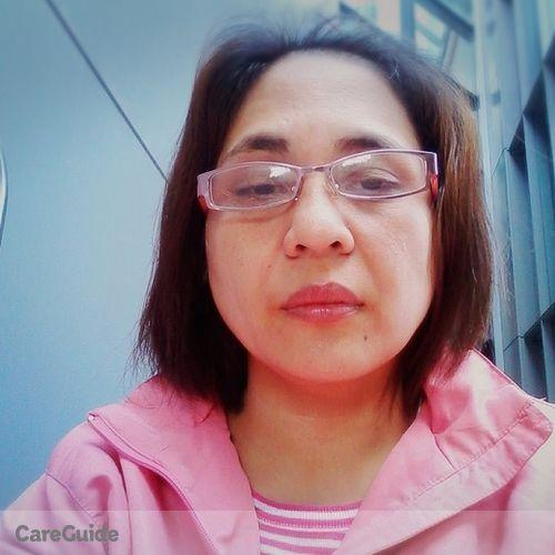 Canadian Nanny Provider Maria Rosa Aquino's Profile Picture