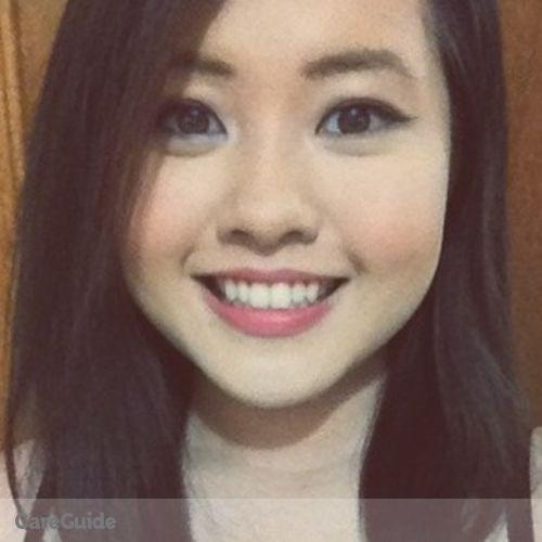 Canadian Nanny Provider Michelle Guan's Profile Picture