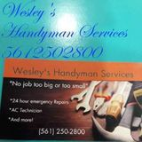 Wesley's handyman services