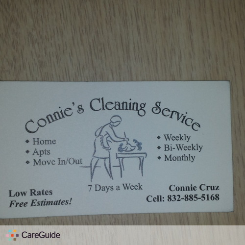 Housekeeper Provider Connie C's Profile Picture