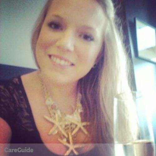 Canadian Nanny Provider Samantha Bouchard's Profile Picture