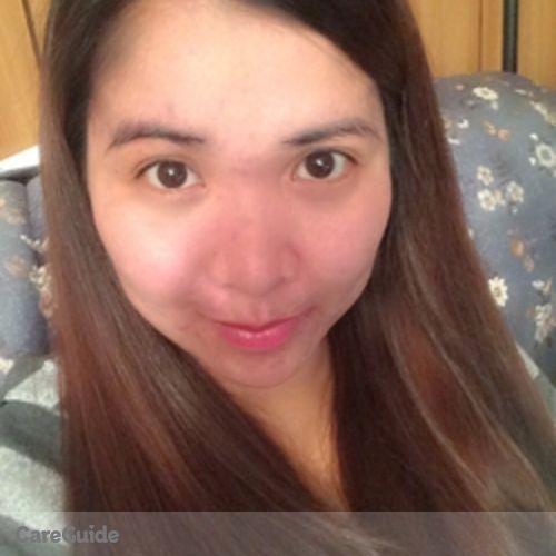 Canadian Nanny Provider Cristina Talingdan's Profile Picture