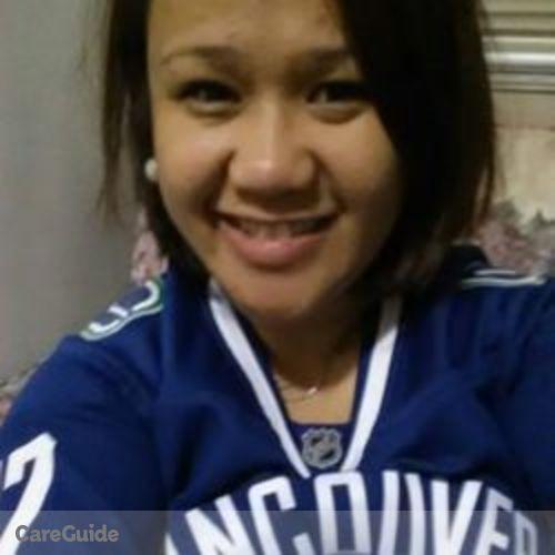 Canadian Nanny Provider Rhodaliza D's Profile Picture