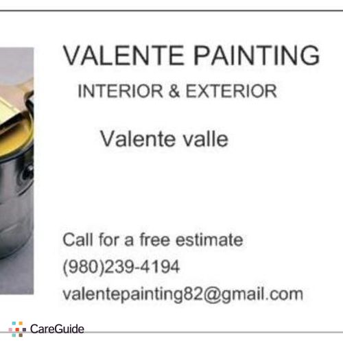 Painter Provider Valente B's Profile Picture