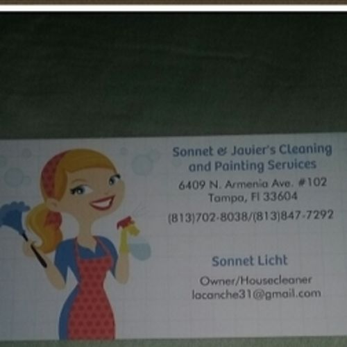 Housekeeper Provider Sonnet Licht's Profile Picture