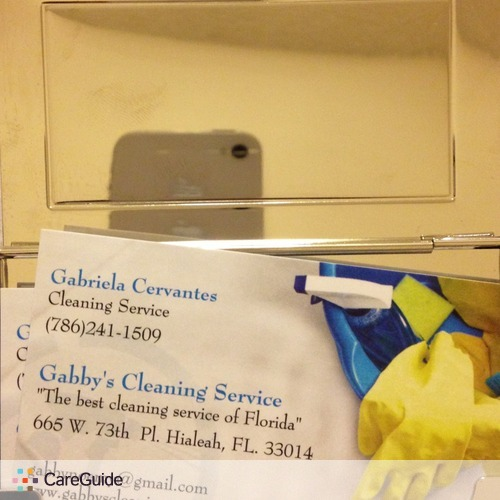 Housekeeper Provider Gabriela Cervantes's Profile Picture