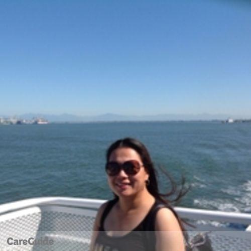 Canadian Nanny Provider Judith Almerol's Profile Picture