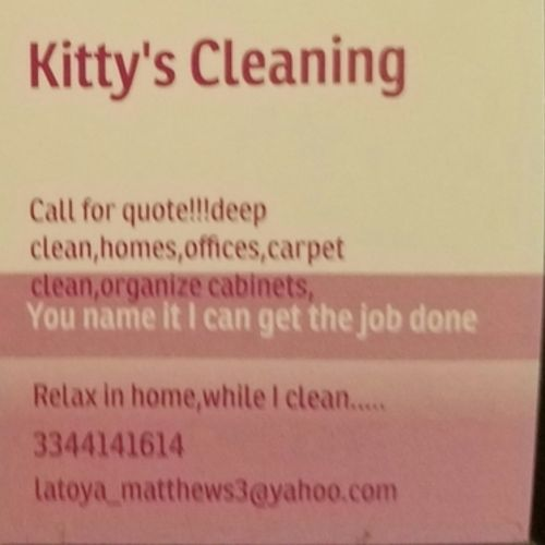 Housekeeper Provider Latoya M's Profile Picture