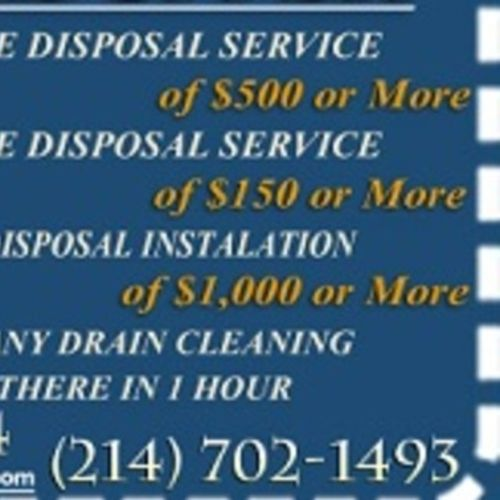 Plumber Provider Plumbing Garbage Disposal's Profile Picture