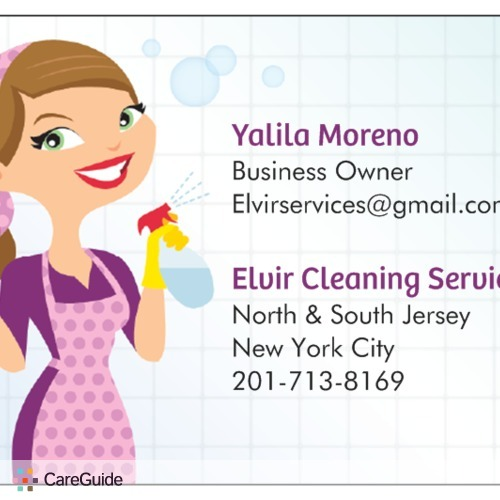 Housekeeper Provider Yali Moreno's Profile Picture