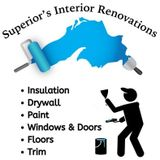 Offering Insulation, Drywall, Painting, Flooring, Trim and Home Renovation services to Sault Ste Marie and area