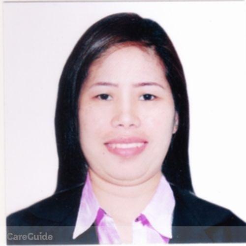 Canadian Nanny Provider Desiree F's Profile Picture