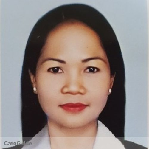 Canadian Nanny Provider Editha C's Profile Picture
