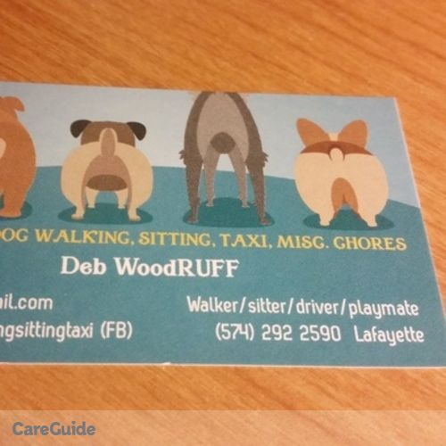 Pet Care Provider Deb Woodruff's Profile Picture
