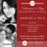 Photographer - Valentine's Day Special Portrait Session! - $190