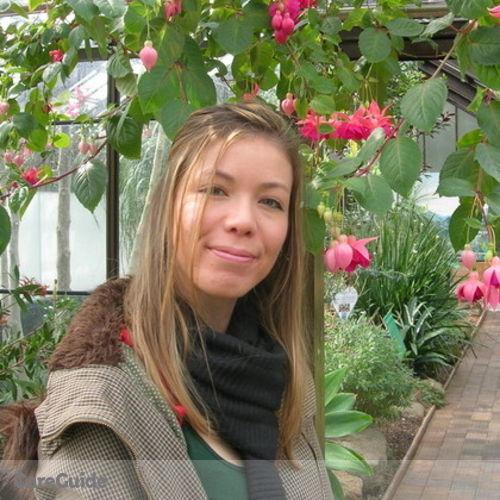 Canadian Nanny Provider Celia Perrin's Profile Picture