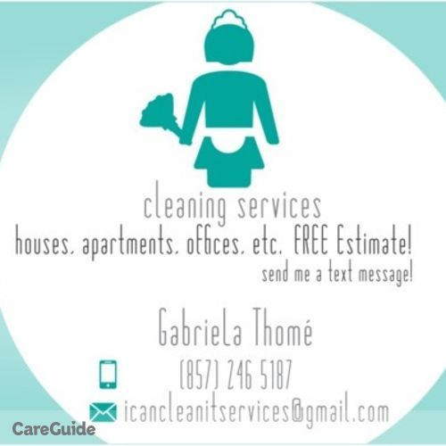 Housekeeper Provider Gabriela Thomé Santana's Profile Picture