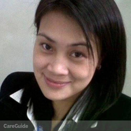 Canadian Nanny Provider Florida Ma Mendoza's Profile Picture