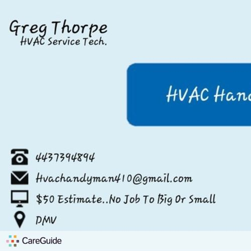 Handyman Provider Greg Thorpe's Profile Picture